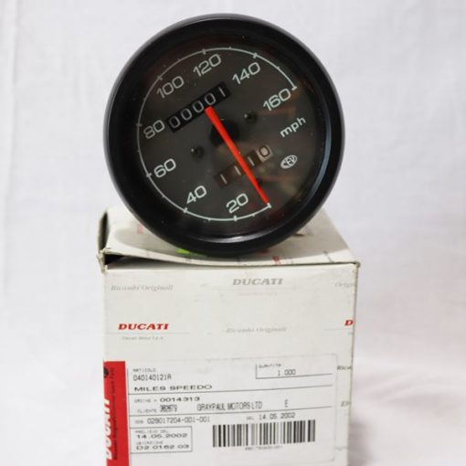 Moto-R use only Ducati Genuine parts in your motorcycle service - Ducati 40140121A – Miles Speedo – ST2 / 98 USA – 900ss 2000