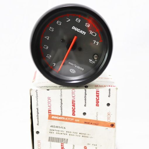 Moto-R use only Ducati Genuine parts in your motorcycle service - Ducati Monster 600/750 replacement rev counter 40240141A